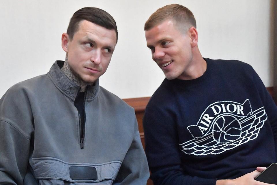 Александр Кокорин и Павел Мамаев вновь явились в суд.