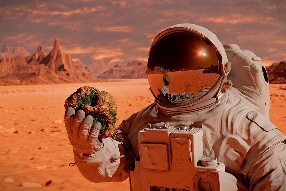 Что привлекает землян на Марсе?