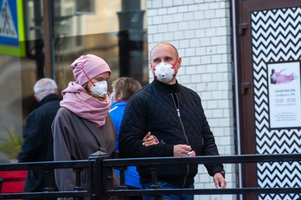 А местах скопления людей стоит носить маски