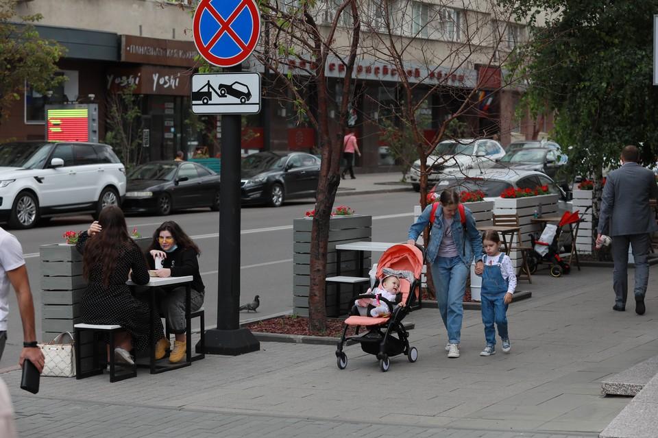 Пока в Красноярске открыты только летние веранды.