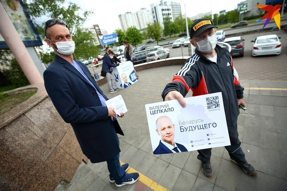 Валерий Цепкало хотел баллотироваться в президенты Беларуси, но не все собранные подписи за его выдвижение ЦИК признал действительными