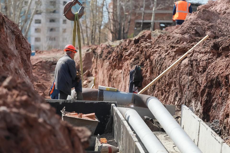 В Красноярске из-за ремонта теплосетей частично перекрыли «Красраб»