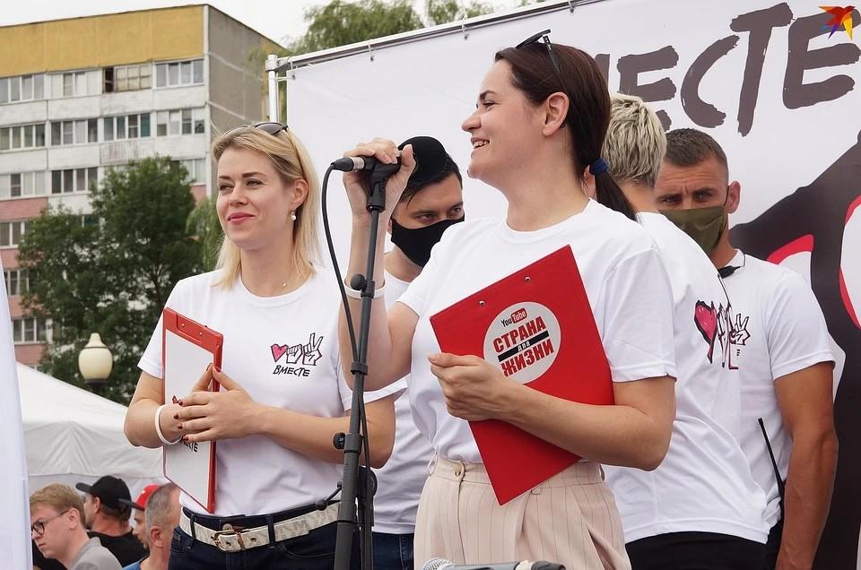 Светлана Тихановская говорит, что хочет стать президентом не ради власти