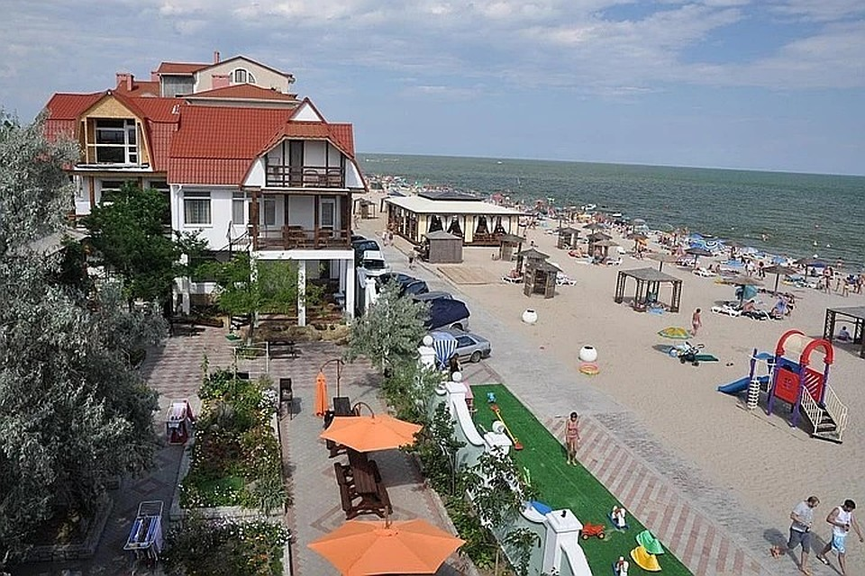 Популярное место бюджетного отдыха - поселок Затока, что под Одессой.