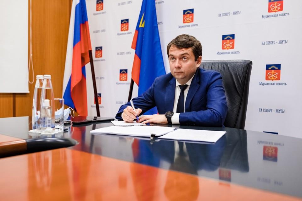 Андрей Чибис отчитался о своих доходах за 2019 год. Фото: Правительство Мурманской области