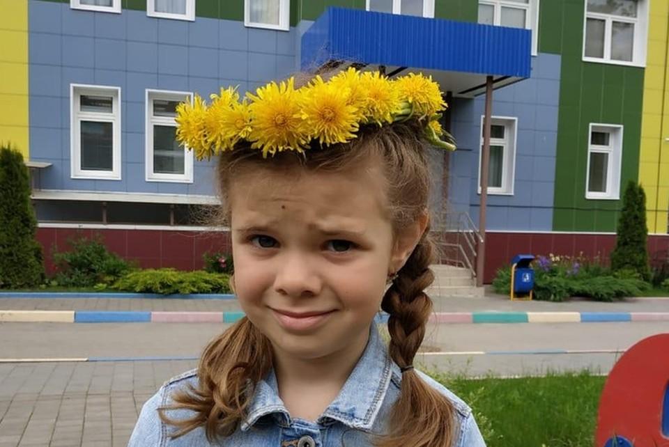 Даша - активная девочка, этой осенью она пойдет в школу. Фото: личный архив