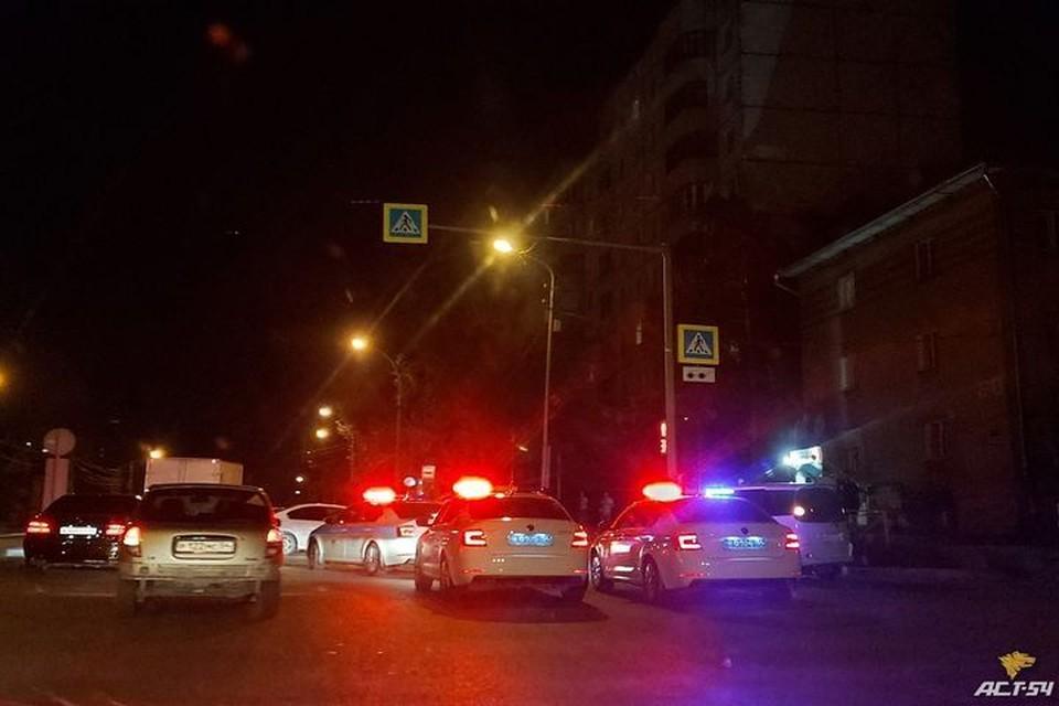 """Ночью, 5 июля, в Ленинском районе Новосибирска произошло смертельное ДТП. Фото: """"АСТ-54"""""""