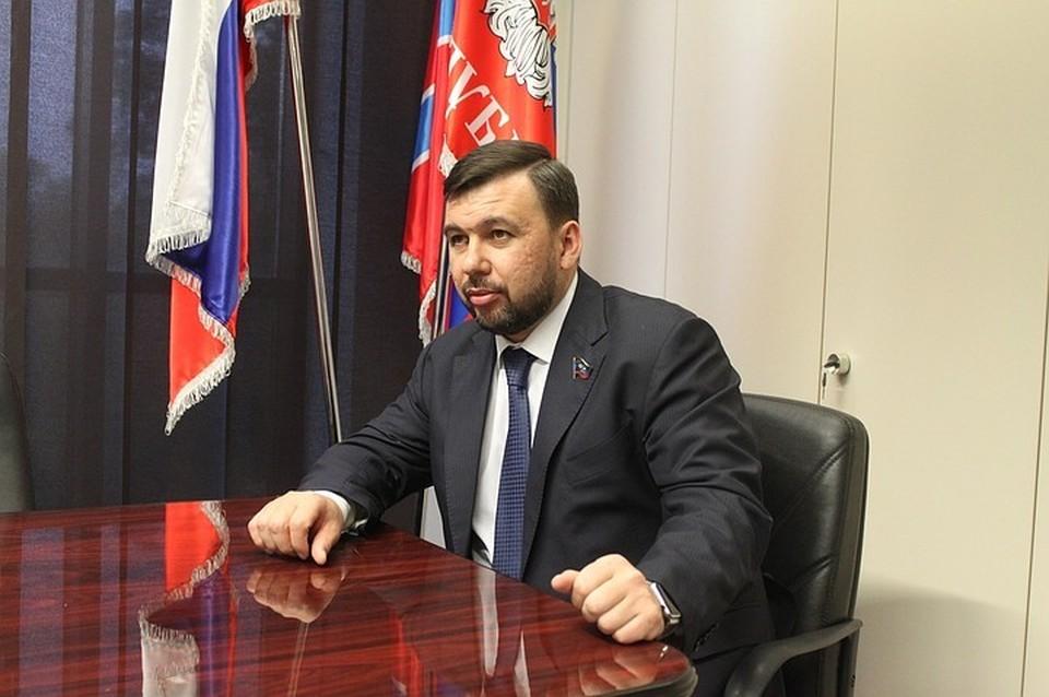 Глава ДНР Денис Пушилин заявил, что в заявлениях Кравчука нет ничего общего с пунктами Минских соглашений
