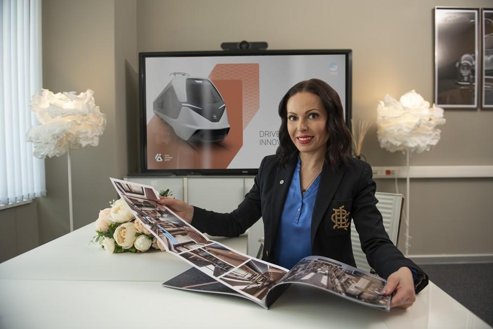 Кристина Дубинина, директор по стратегическому маркетингу ТМХ. Фото предоставлено пресс-службой ТМХ.