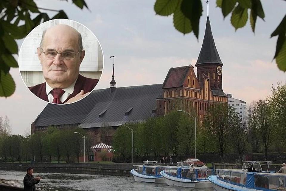 """Игоря Одинцова часто называют """"папой"""" Кафедрального собора."""