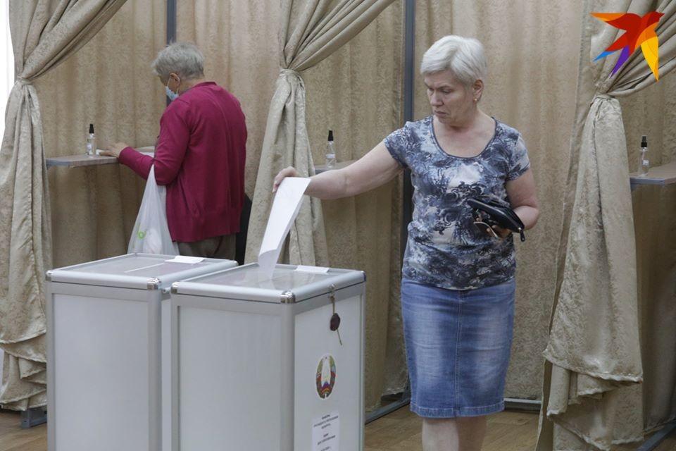 По данным на 16.00, в Беларуси проголосовало 73,4% избирателей.