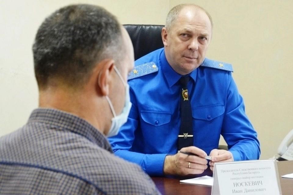 Иван Носкевич сообщил, как вооружались участники массовых беспорядком и что среди пострадавших - десятки силовиков.