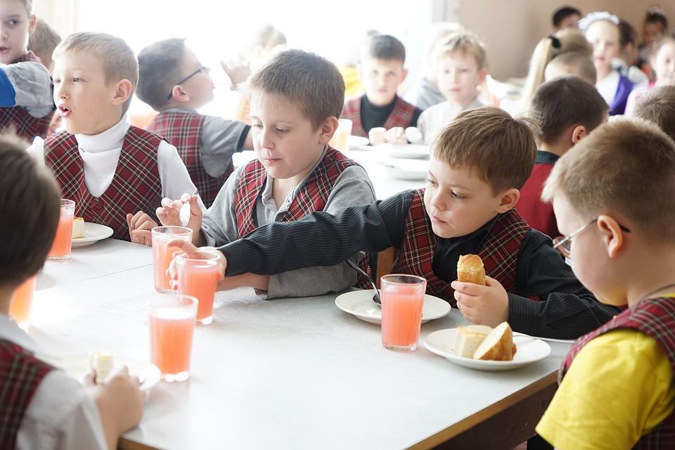Для организации горячего питания всем категориям учащихся начальных классов правительство предусмотрело субсидию на текущий год