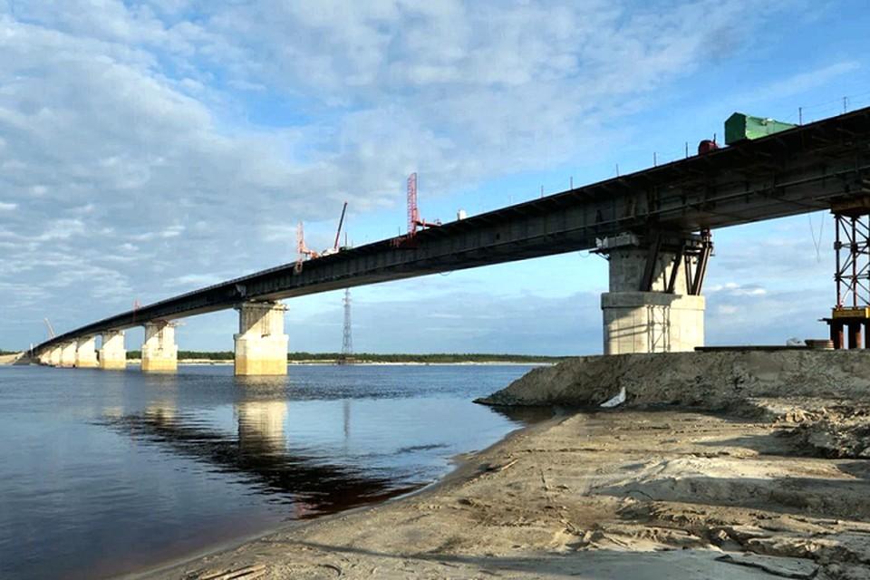 Пуровский мост соединил берега реки Фото: yanao.ru