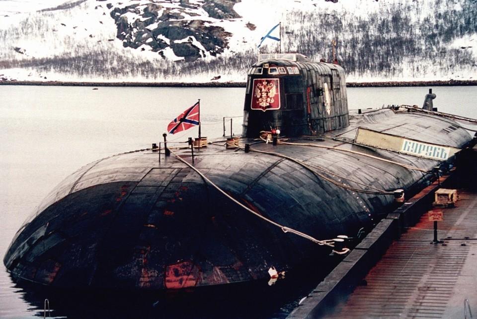 "Подлодка ""Курск"" погибла 12 августа 2000 года Фото: «Пресс-служба Северного флота ВМФ России»"