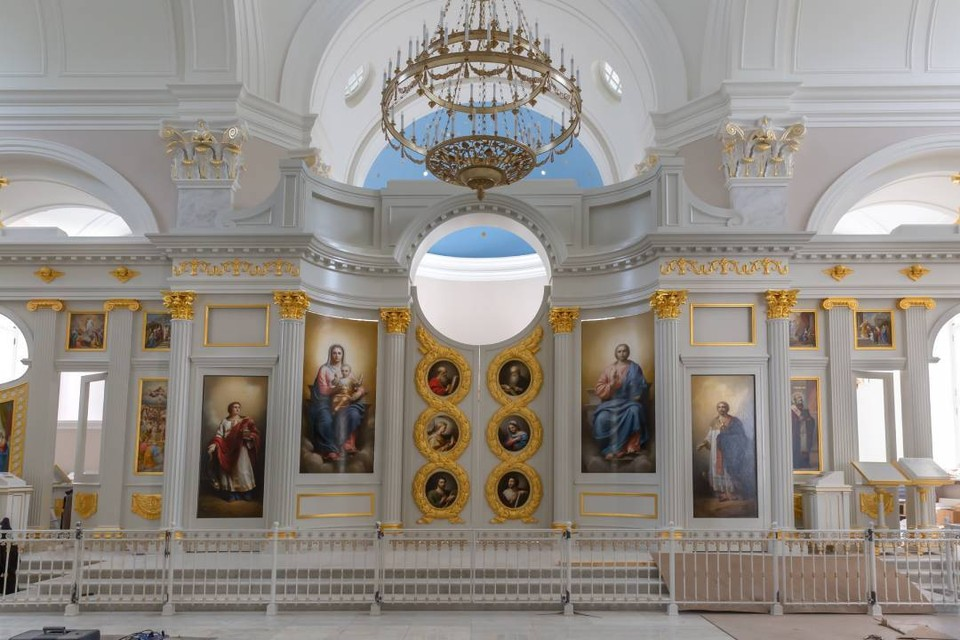 Путь к восстановлению храма занял 80 лет. Фото предоставлено фондом «Созидающий мир».