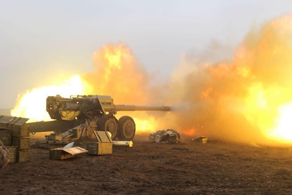 """За предыдущий отчетный период Украина пять раз нарушила условия допмер контроля перемирия. Фото: Пресс-центр штаба """"ООС"""""""