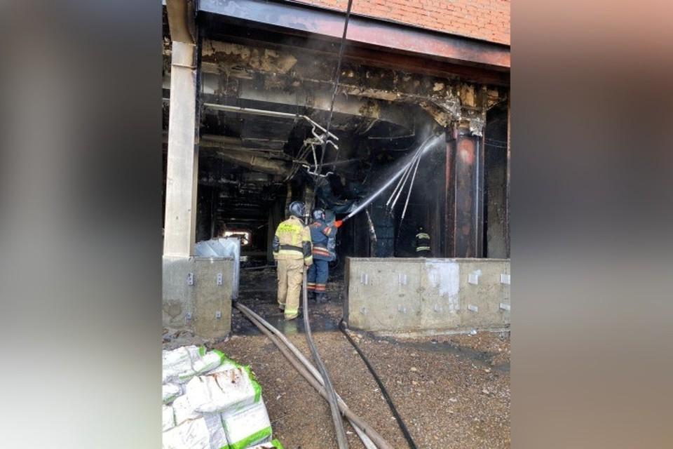 Названа причина пожара в ледовом дворце в Кемерове. ФОТО: пресс-служба администрации правительства Кузбасса