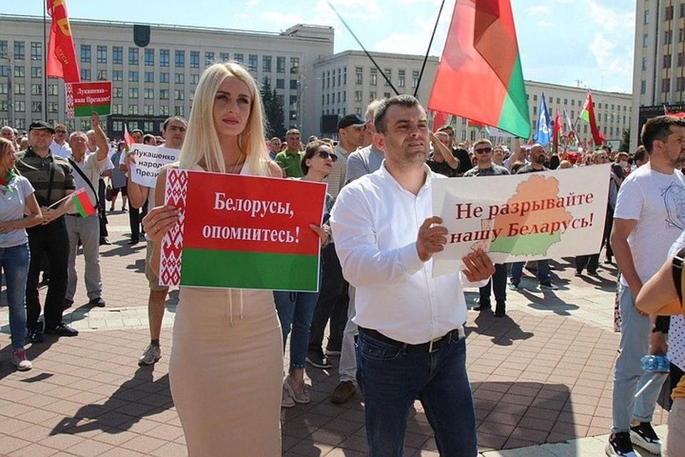 Политолог Марат Баширов: Ситуацию в Белоруссии раскачивают страны, которые находятся под патронатом США
