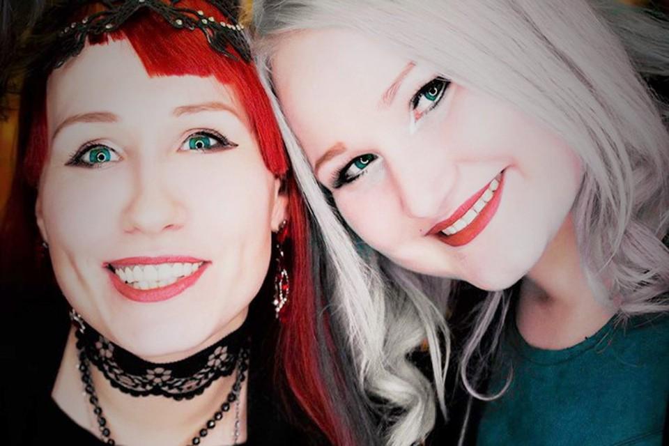 Сестры Виктория и Юлия Ланские.
