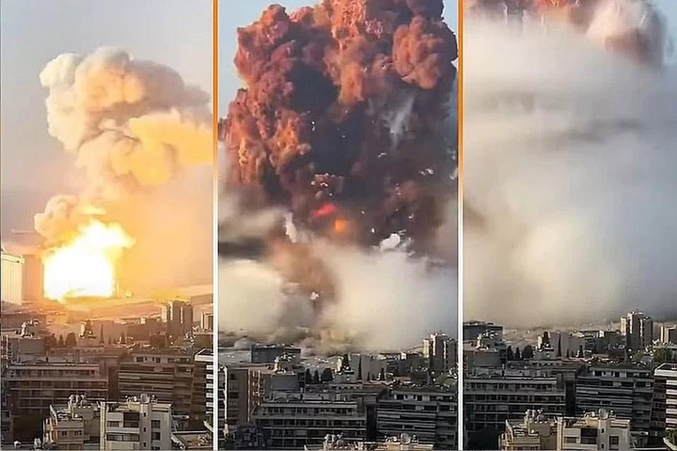 """Власти Бейрута отметают версию о взрыве в порту города оружия """"Хезболлы""""."""