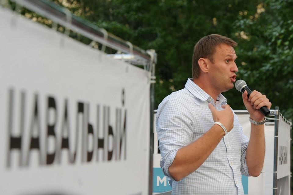 Навальный в коме