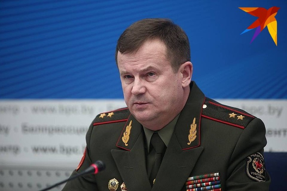 Госсекретарь Совета безопасности Беларуси Андрей Равков.