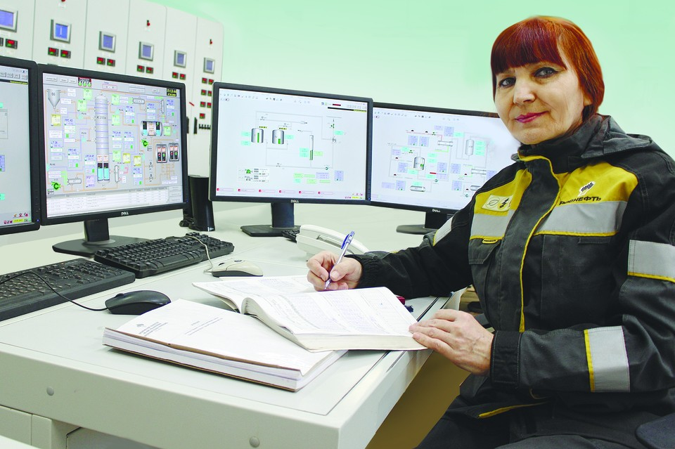 Валентина Кузнецова — настоящий ас своего дела. Фото АО «ННК».