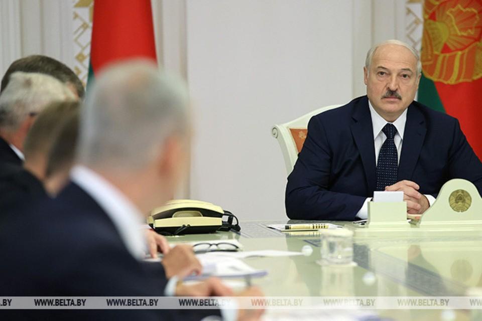 Лукашенко заверил, что не допустит обвала национальной валюты. Фото: БелТА