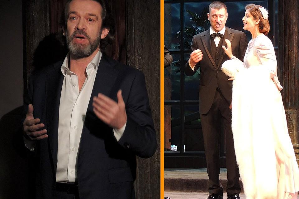Владимир Машков представил новые постановки Театра Олега Табакова.