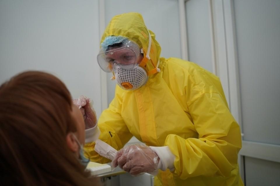 За сутки анализ на коронавирусную инфекцию сдали 3357 человек