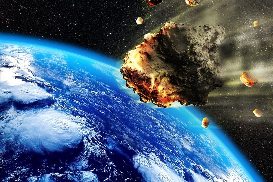 """Астероид, возможно, """"нюхнет"""" земного воздуха"""