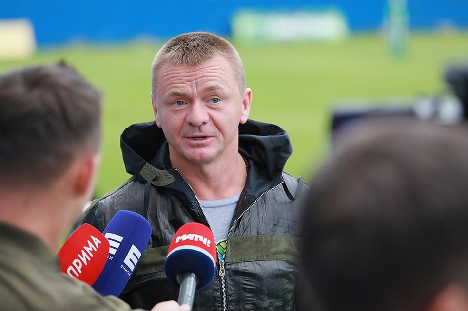 Владимир Сычев приехал в Красноярск на съемки