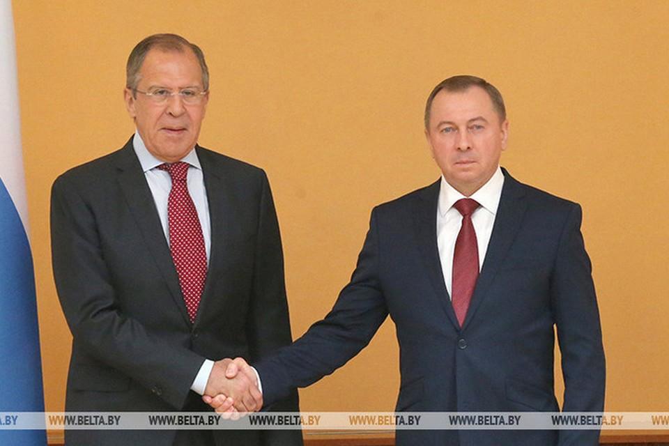 Макей встретится с Лавровым на переговоры 2 сентября в Москве. Фото: БелТА