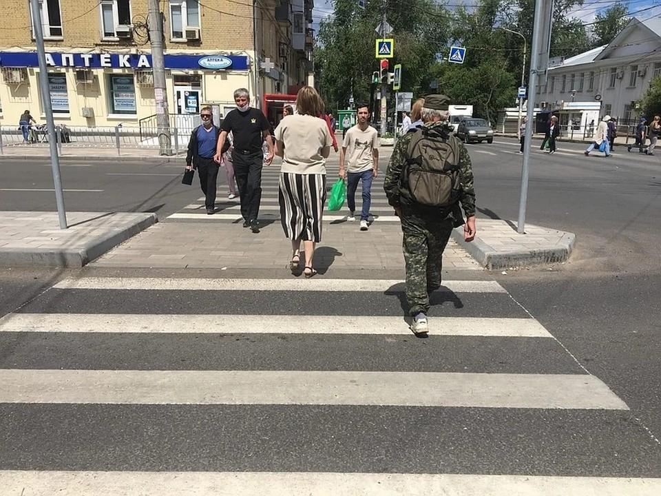 Где в регионе опасно для пешеходов