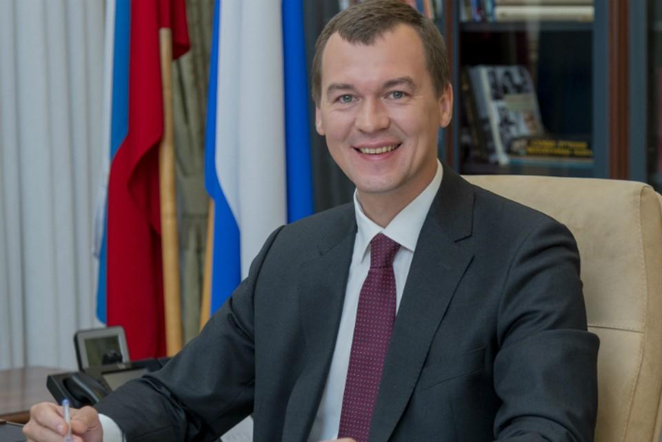 Трансляция прямой линии врио губернатора Хабаровского края 1 сентября