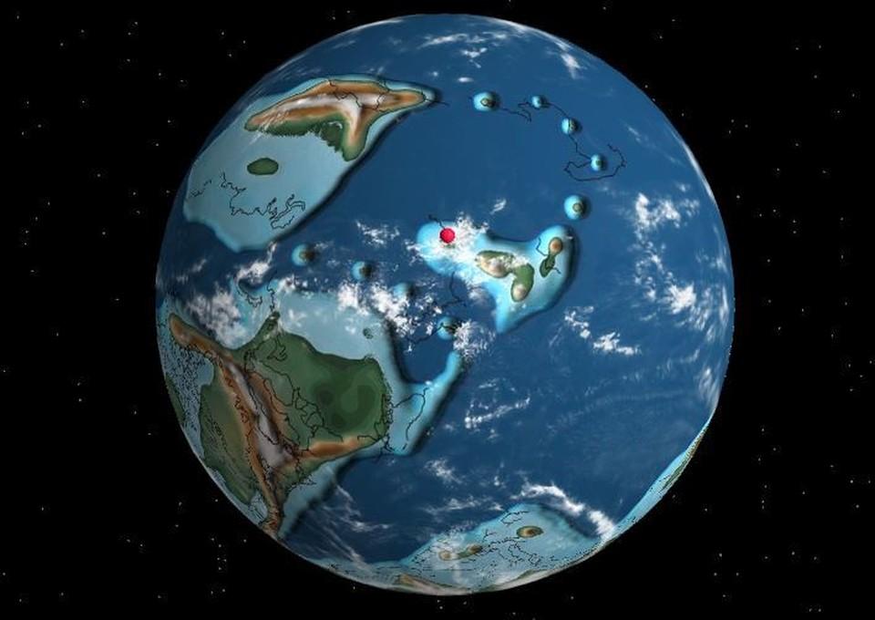 """Журналисты """"Комсомолки"""" выяснили, где находилась Тюмень 400 миллионов лет назад. Фото - dinosaurpictures.org."""