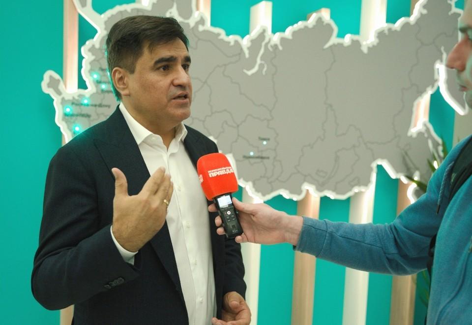 Лидер партии «Новые люди» Алексей Нечаев.