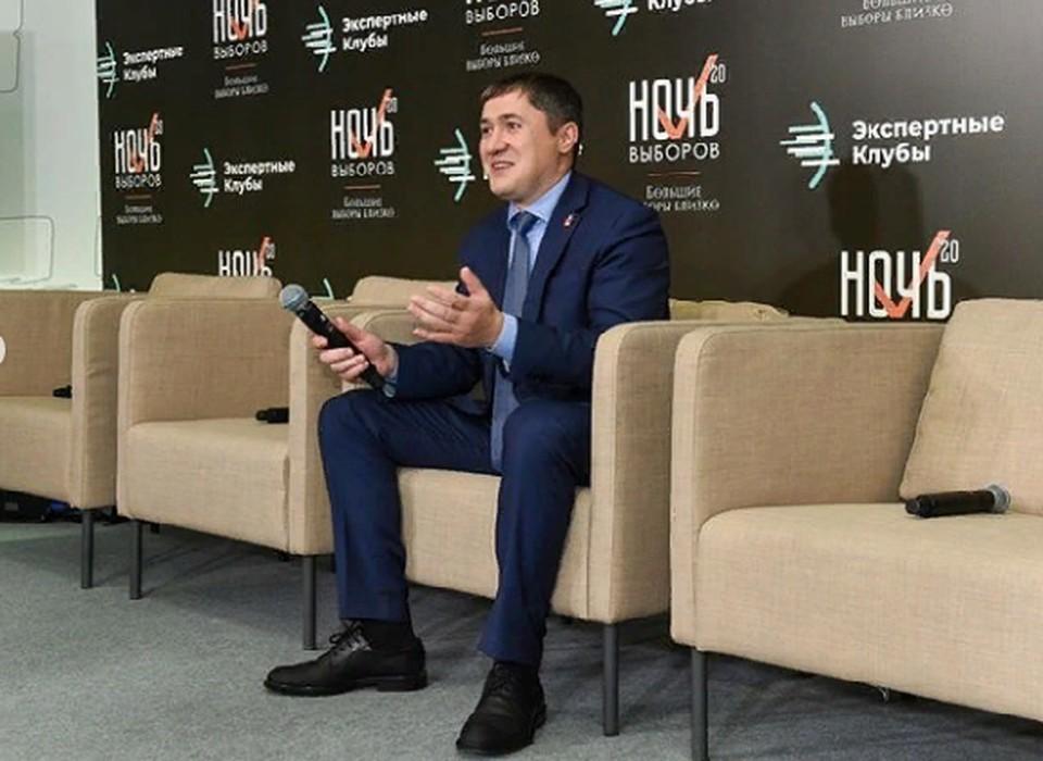 Дмитрий Махонин - избранный губернатор Пермского края. Фото: Инстаграм Дмитрия Махонина.