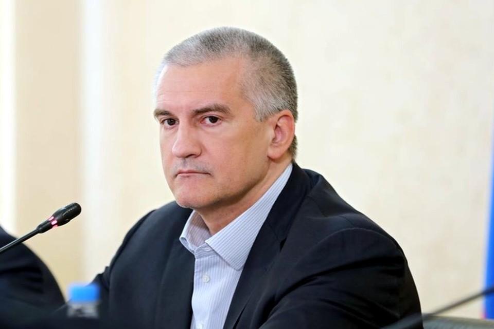 Сергей Аксенов. Фото: пресс-служба главы РК.