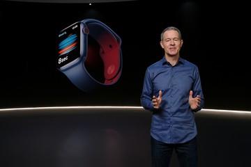Премьера Apple-2020: антикоронавирусные часы
