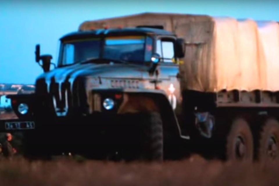 Машины 25-й бригады несут опасность для жителей Донбасса. Фото: Скриншот видео 25-й бригады