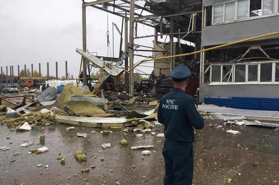 Спасатели работают на месте. Фото: ГУ МЧС по НСО