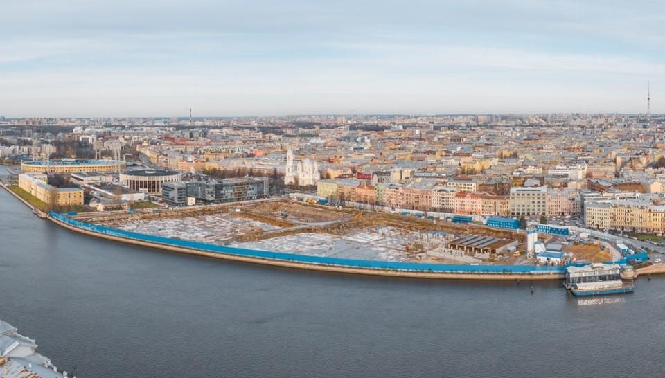 Фото с официального сайта Международный Конкурс на ландшафтно-архитектурную концепцию парка «Тучков буян» в Санкт-Петербурге. park-spb.ru