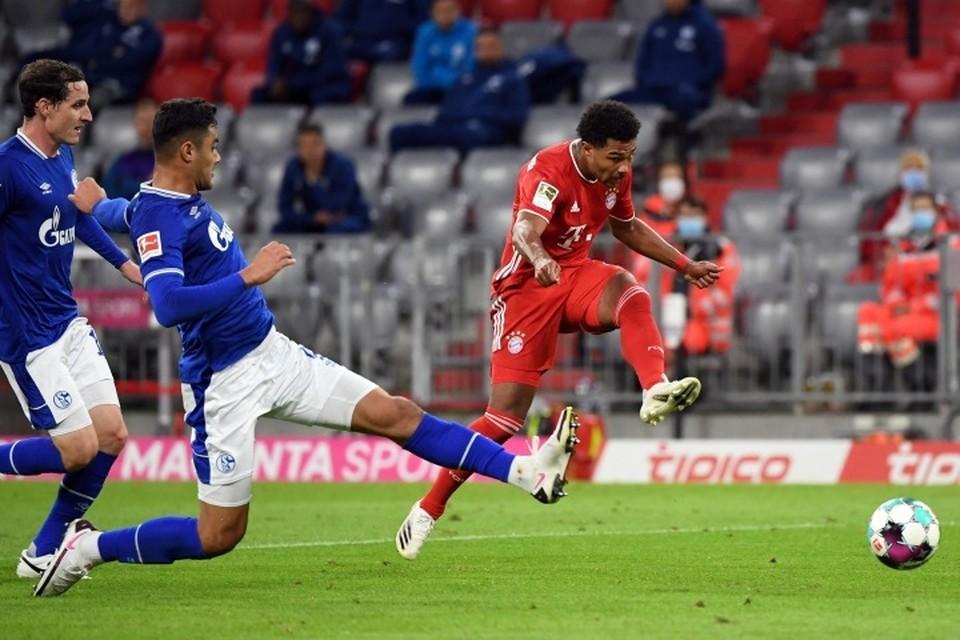 «Бавария» на своем поле разгромила «Шальке» со счетом 8:0