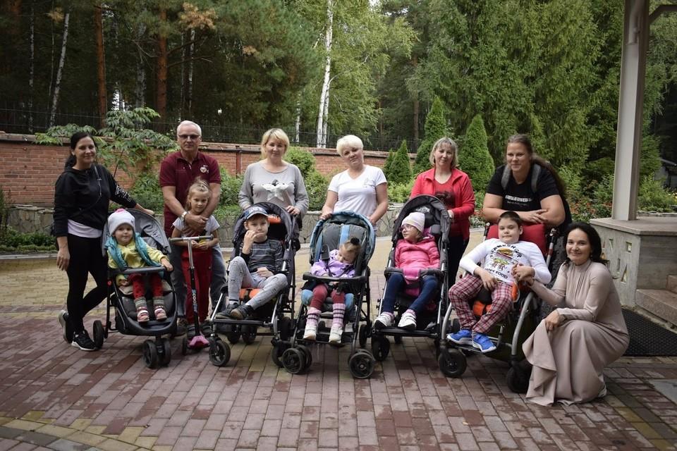 Открытие в Омске детского хосписа европейского уровня «Дом радужного детства» ждали более 300 семей Фото: «Дом радужного детства»