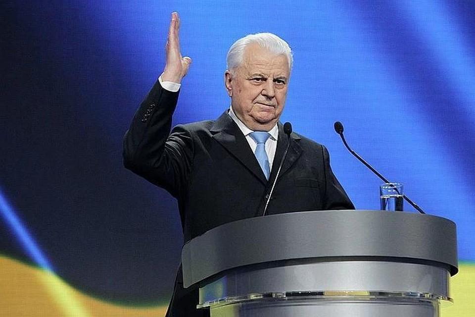 Кравчук выступил за перенос переговоров по Донбассу в Австрию