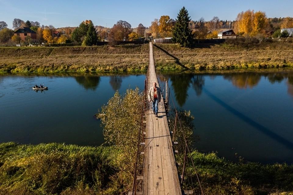 Жители кузбасской глубинки рисковали жизнью из-за гнилого моста