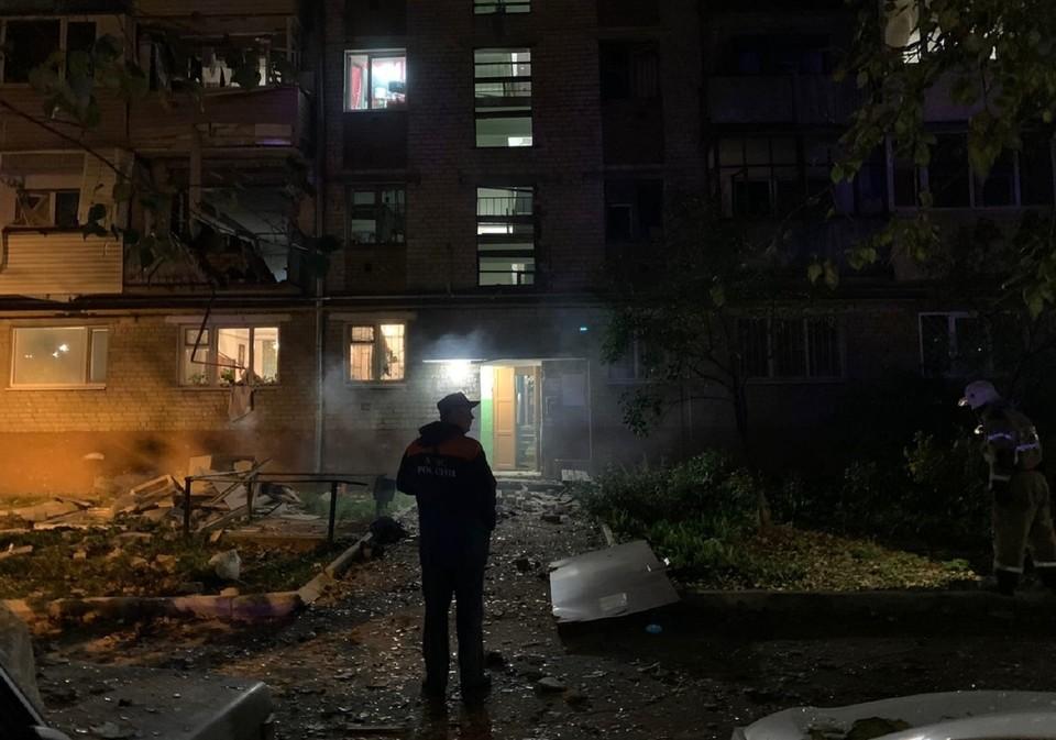 В Тюмени в многоэтажном доме прогремел взрыв. Фото - Ирина Ульянова.