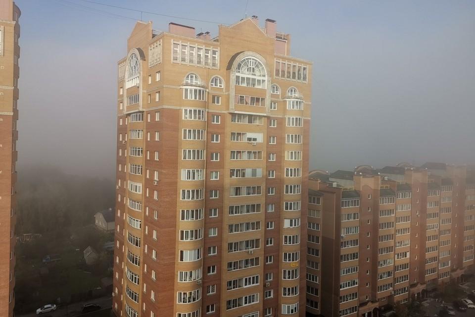 Красноярск утонул в тумане: какая будет погода на неделе
